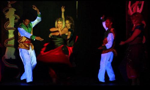 Animación y flamenco